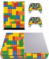 Lego Ladrillo Pegatina/Piel Consola Xbox One S/control Remoto, xbs1