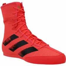 Adidas Caja Hog 3 Boxeo Tenis Deportivas Zapatos informales para hombres-Rojo