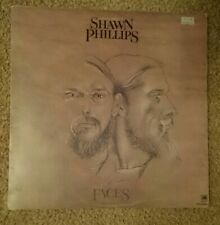 "LP Shawn Phillips ""Faces"" vinyl A&M AMLS 63262 UK 1972 Good condition -some wear"