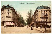 CPA 06 Alpes-Maritimes Cannes Boulevard Carnot animé