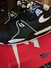 Nike Air Flight 89 Black White Men Casual Lifestyle Shoes Sneakers size 11.5