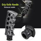 Grey Gun Grip Knife Handle Shift Knob Gear Stick Knob Car Manual Universal 2021