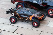 Custom Body Muddy Orange for Traxxas 1:16 Slash / e-Revo 1/16 Scale e Revo