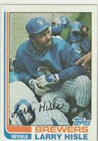 FREE SHIPPING-MINT-1982 Topps #93 Larry Hisle Brewers PLUS BONUS CARDS