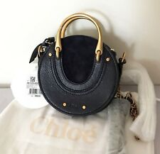 $990 Chloe Mini Pixie Leather Suede