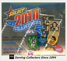 2010 Select AFL Champions Trading Card Factory Box (36 packs)