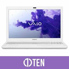 Sony VAIO SVS 13 SVS13125CAW Intel i5 8GB RAM 128GB SSD White GeForce Laptop