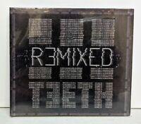 3TEETH: Remixed CD 2014 DIGIPAK SEALED Aesthetic Perfection Kanga INDUSTRIAL