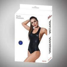 Body Pleasure - TL117 - Wet Look - S/M - Luxury Gift Box - Black