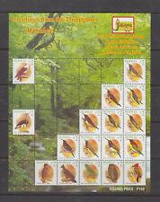 Philippine Stamps 2008 Birds 'Jakarta Intl Stamp Exhibition sheetlet MNH