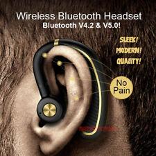 Wireless Bluetooth 5.0 Headset Stereo Headphone Earphone Sport Handsfree New USA