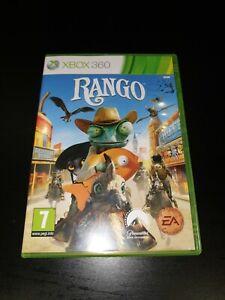 Rango Microsoft Xbox 360 Kids Game, VGC, 1st Class Post