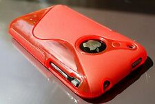 S line Gel case iPhone 3 3G 3GS    TPU  Back Cover Case skin  Red