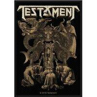Testament Demonarchy Patch Official Thrash Metal Band Merch New