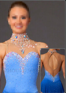 Ice Figure Skating Dress Figure skaitng Dress customized For Competitio
