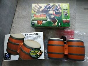 Bongos Donkey Kong Konga Nintendo GameCube PAL - En boite - Sans jeu
