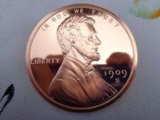 Imperfect 5 oz. Lincoln Wheat Cent .999 fine copper rounds