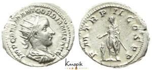 Römische Kaiserreich, Gordian III. Pius, Antoninian, Rom, RIC 37, 4,66g., ss+