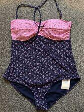 Womens Bnwt TU Anchor Swim Suit Size 16 Uk