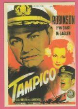 Spanish Pocket Calendar #230 War Movie Tampico Film Poster Edward G Robinson