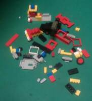 LOTTO LEGO - COSTRUZIONI - VINTAGE TOYS