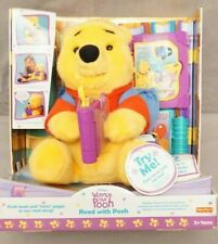 """Disney Winnie The Pooh """"Read With Pooh"""" w/2 Storybooks Will Need New Battery NEW"""