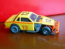 Vintage Slot Car, TCR Rat Trap Ford Mustang Yellow