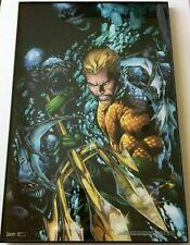 Aquaman #1 (New 52 Series) cover poster Dc Comics Trends Int'l Framed!