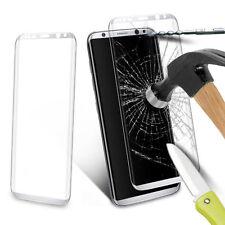 Pellicola in Vetro Temperato bordo curvo Resistente bianca Samsung Galaxy S6