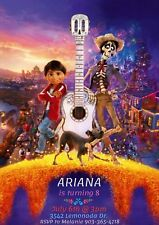 Coco Movie Party Personalized Custom Invitation,  You Print     * Hector, Miguel