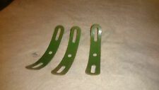 3 Meccano FORMED SLOTTED STRIPS Part Number 215
