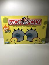 Monopoly Nick SpongeBob SquarePants Edition Ages 8+