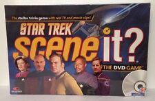 Mattel Star Trek Scene It DVD Trivia Game