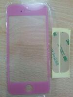 Cristal de Pantalla Digitalizador para Apple Iphone 5 5G 5S 5C Rosa +Adhesivo