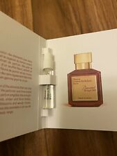 Baccarat Rouge 540 Extrait Maison Francis Kurkdjian 2mL / 0.06oZ Sample Travel