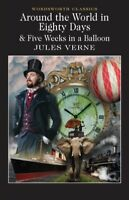 Around the World in 80 Days / Five Weeks in a Balloon by Jules Verne Paperback