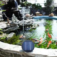 Brushless Solare Acqua Pompa Acquario Sommergibile Pannello Fontana Giardino 3W