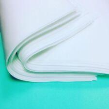 """10 sheets- silk foam (foamiran) for flowers handmade size 19,6""""x19,6"""" x 0.038"""""""