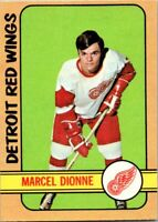 1972 O-Pee-Chee #8 Marcel Dionne  EX-MT