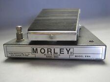 Vintage Morley Black Gold Basic Wah Model BWA Effects Pedal