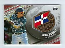 2020 Topps Global Game Medallion Manny Machado GGM-MM 6 out of 10 Padres