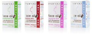Ikarov Face Oil Bulgarian Rose For Mature Sensitive Dry Combined Skin Natural