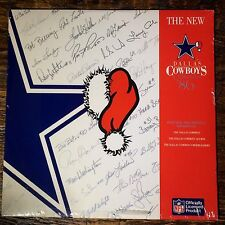 DALLAS COWBOYS New Dallas Cowboys Christmas '86 LP, NEW SEALED