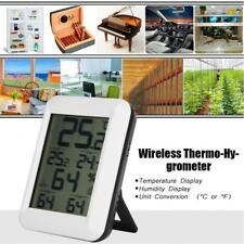 Wireless LCD Digital Thermometer Temperature Humidity Indoor/Outdoor Hygrometer