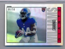 ANDRE WILLIAMS - 2014 Topps Chrome Mini 1985 Style Refractor SP /50 - Giants RC