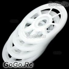 4x Main Drive Gear For T-rex Trex 450 SE V2 PRO Helicopter White RHS1219-01