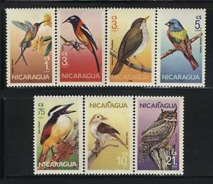Birds by Nicaragua MNH Sc 1500-06