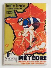 Tour de France 1925 FRIDGE MAGNET (2.5 x 3.5 inches) cycling poster bicycle