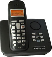 Tchibo TCM 231701 wie Siemens Gigaset A165 A160 AC16 A16 DECT analog Telefon AB