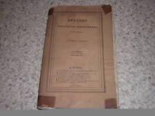 1828.lettres politiques religieuses.Cauchois-Lemaire.T1/2.Napoléon.Cent-Jours